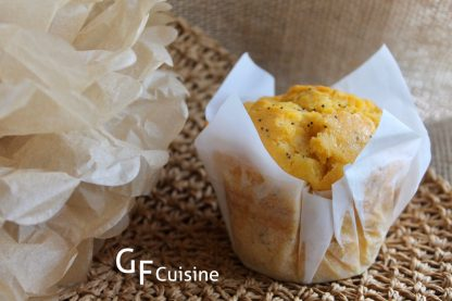 GF4U Orange Poppy seed Muffins