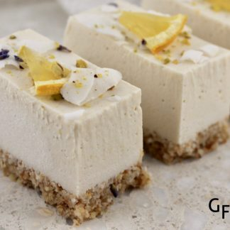 RAW Lust Lemon Coconut Slice