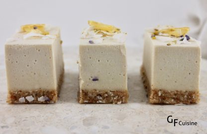 RAW Lust Lemon Coconut Cheezcake