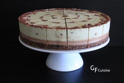 Raw Large Cheezecakes