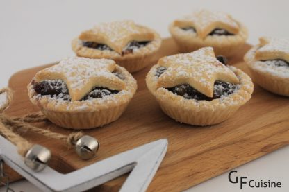 Gluten Free Christmas Fruit Mince Tartlets